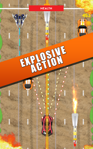 Gangwar Riot - Fastlane Arcade Shooter Car 2D Game  screenshots EasyGameCheats.pro 3