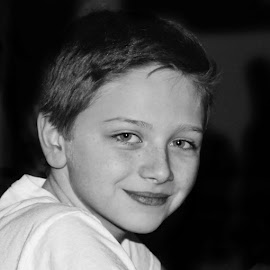 Aidan by Patricia Phillips - People Portraits of Men ( boys grandsons aidan )