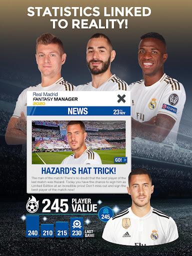 Real Madrid Fantasy Manager'20 Real football live 8.51.060 screenshots 8