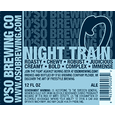 O'So Night Train Oatmeal Porter