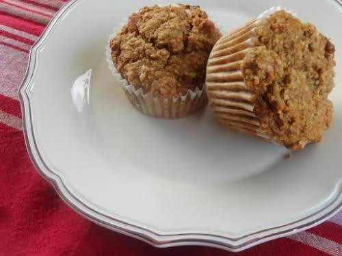 "Apple Sauce Cinnamon Muffins ""Thanks to the applesauce, apple juice concentrate and..."