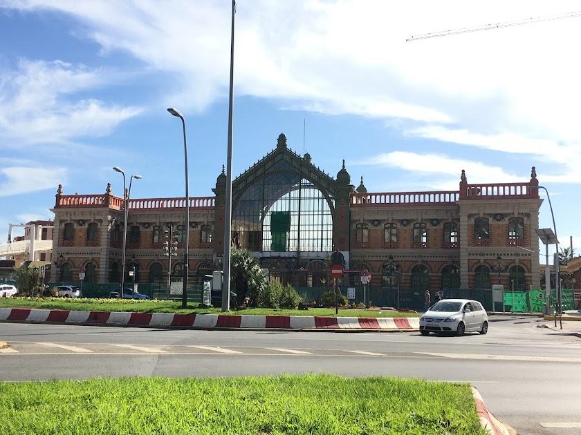 Así luce la Vieja Estación tras retirar la lona