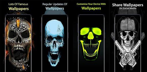 Skull Hd Wallpaper 4k Background Apps On Google Play