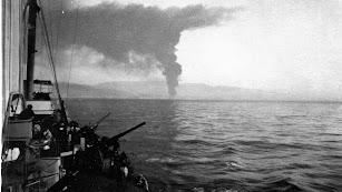 Bombardeo de la CAMPSA  el 8 de noviembre de 1936.