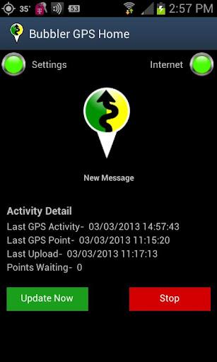 Bubbler GPS Lite 2.5.01 Lite screenshots 1