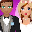bride groom games icon