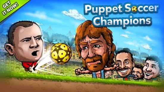 ⚽ Puppet Soccer Champions – Fighters League ❤️? - náhled