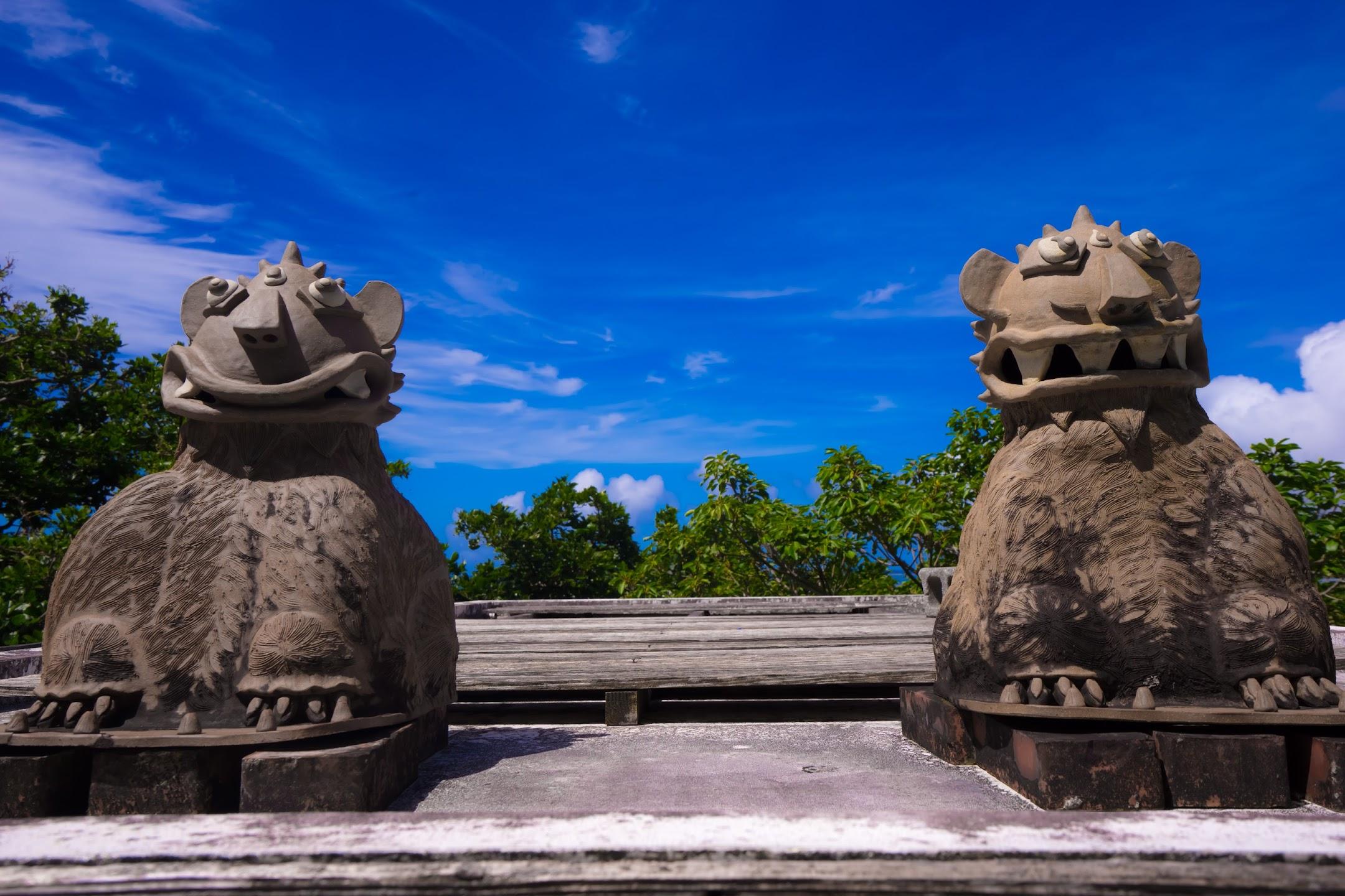 沖縄 新原ビーチ 浜辺の茶屋2