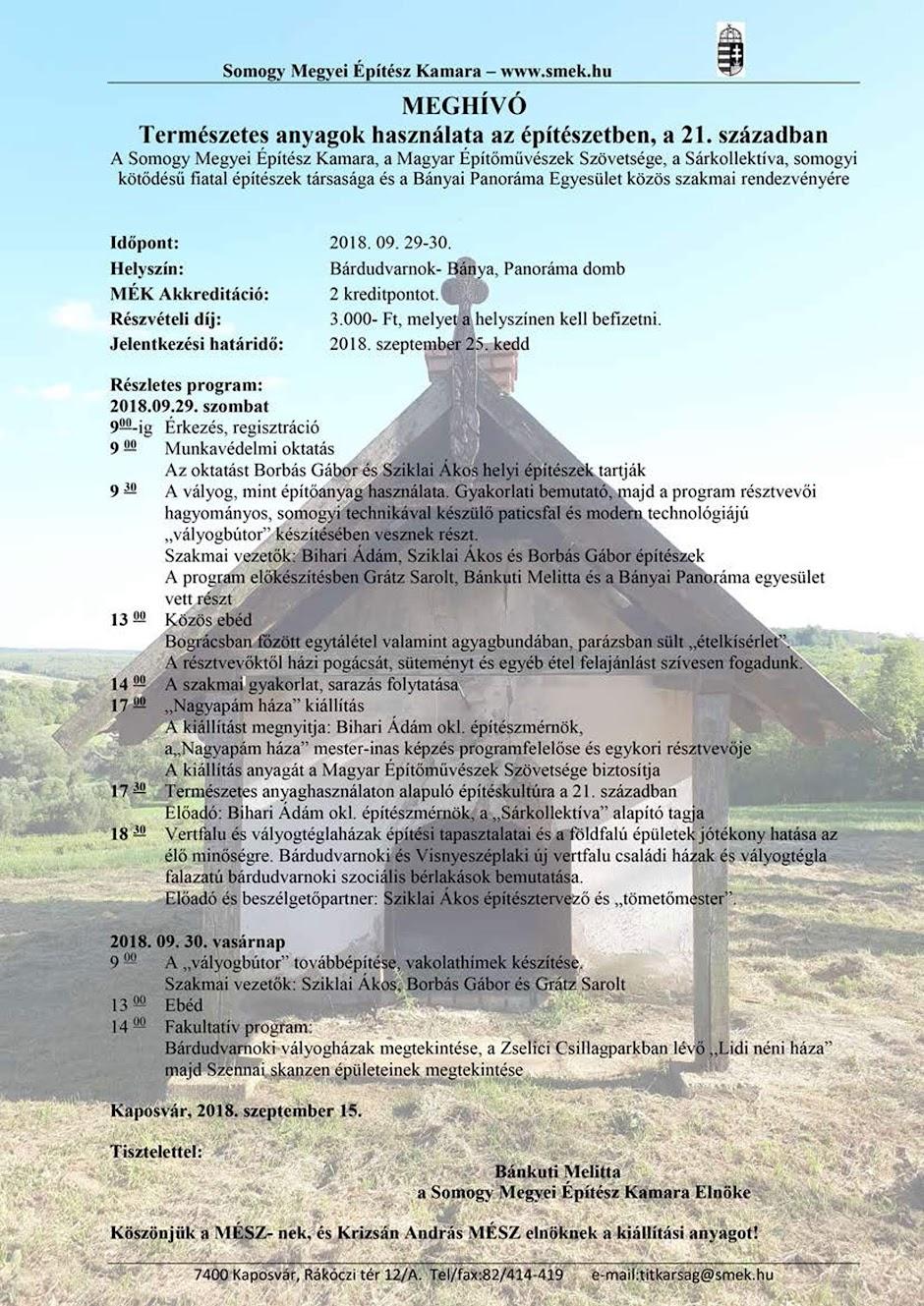 Építészet plakát