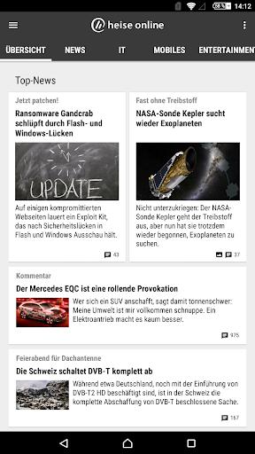 heise online - News 3.4.2 screenshots 17