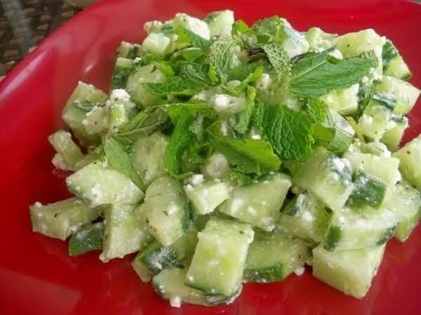 Easy Egyptian Feta Salad Recipe