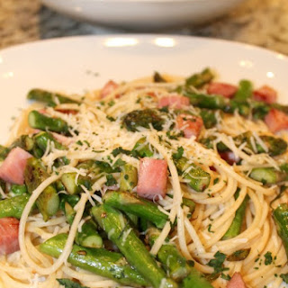 Ham and Asparagus Spaghetti Recipe