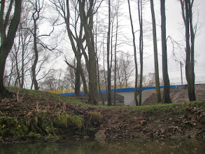Photo: płynę pod widoczny most
