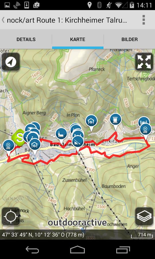 Tourenguide Bad Kleinkirchheim - screenshot