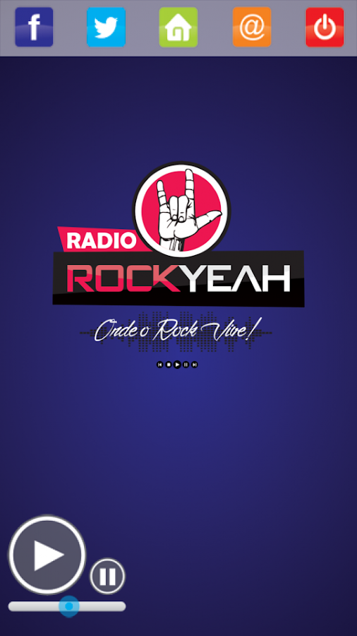 Rádio Rock Yeah- screenshot