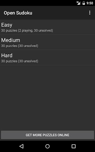 Open Sudoku screenshots 17