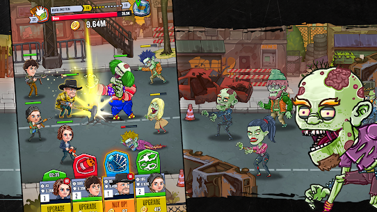 Zombieland: AFK Survival MOD APK [Unlimited Money + Mod Menu] 2.1.0 5