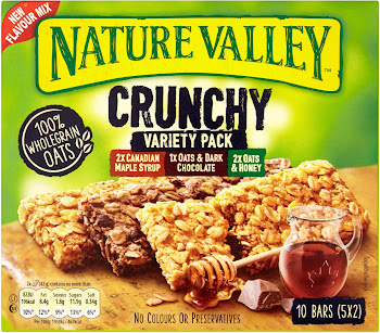 Nature Valley Crunchy Variety Pack - 5 x 42g