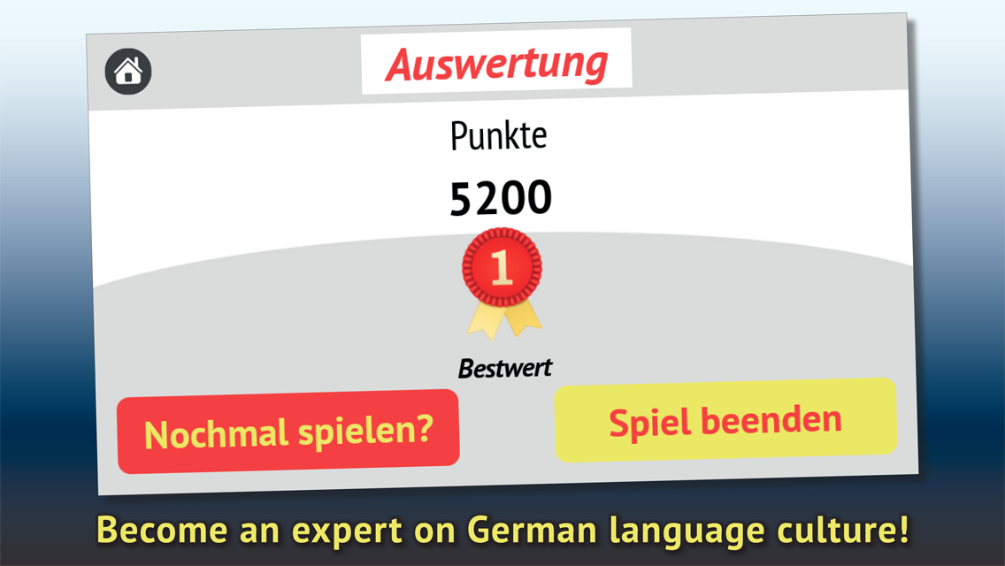Do you understand German?- screenshot