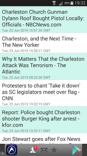 Charleston Shooting News