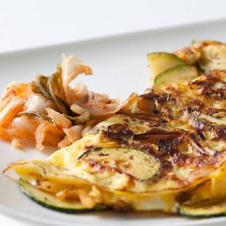 Kimchi Omelet.