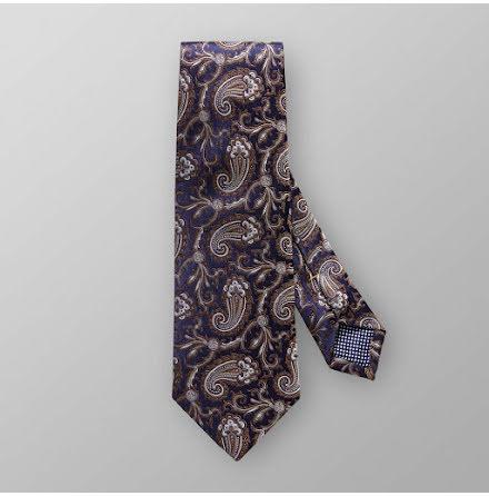 ETON blåbrun paisley slips