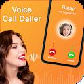 Voice Call Dialer : Voice Caller Name Dialer icon