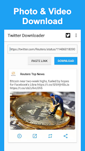 Download Twitter Videos - Save Twitter Video & GIF 1 01 09 0807 +