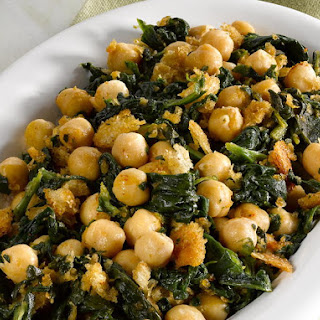 Chickpeas with Spinach.