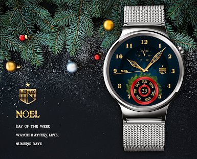 Noel watchface by Burzo- screenshot thumbnail