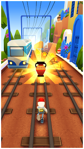 Subway Surfers Greece - Screenshot