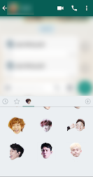 Exo WhatsApp Sticker Kpop APK screenshot thumbnail 4