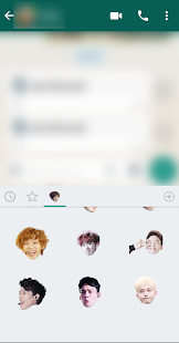 Exo WhatsApp Sticker Kpop Screenshot