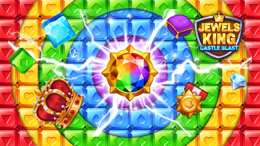 Jewels King : Castle Blast screenshots 2