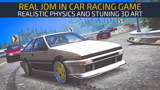 JDM RACING V1.4.5 MOD APK (Unlimited Money) 1