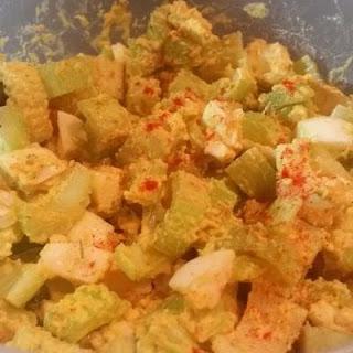 Smoked Celery Egg Salad Recipe