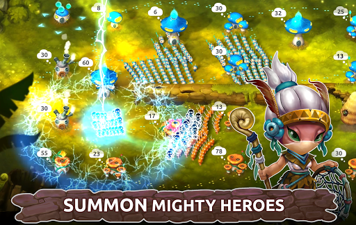 Mushroom Wars 2 - Epic Tower Defense RTS 3.10.1 screenshots 2