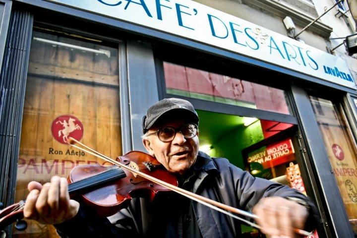 Il violinista di axelart