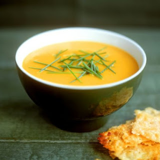 Carrot Veloute with Herbs.
