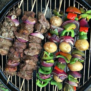 BEST Beef Kabob Marinade.