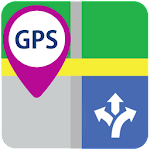 GPS Route Find Maps Navigation Icon