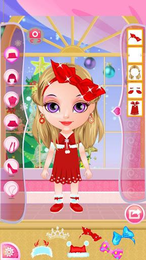 Baby Mafa Christmas Dress Up