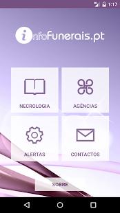 infoFunerais - náhled
