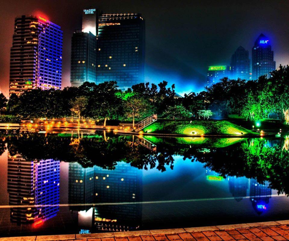 beautiful neon circles 4k - photo #36