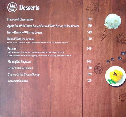 Hooked Seafood Restaurant menu 6