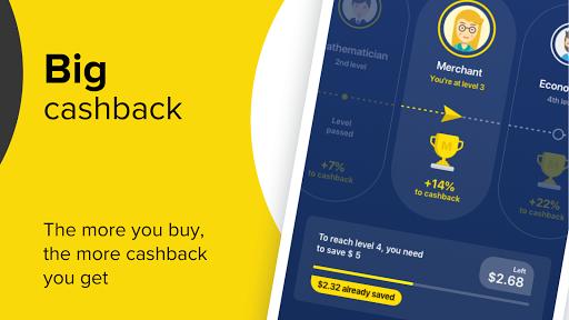 Cashback service Megabonus screenshot