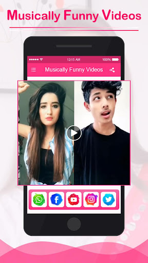 Funny Videos for Musically 1.0 screenshots 5