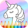 Unicorn Coloring Book APK icon