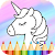 Unicorn Coloring Book file APK for Gaming PC/PS3/PS4 Smart TV