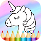 Unicorn Coloring Book by Infokombinat